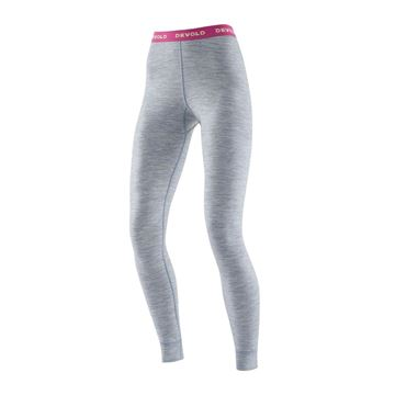 Devold Breeze woman Long Johns grey melange ullbukse