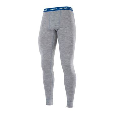 Devold Breeze Man Long Johns grey melange ullongs