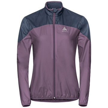 Odlo Jacket CORE LIGHT vintage violet - diving treningsjakke