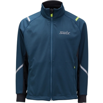 Swix Cross jacket Junior straight Majolica blue langrennsjakke
