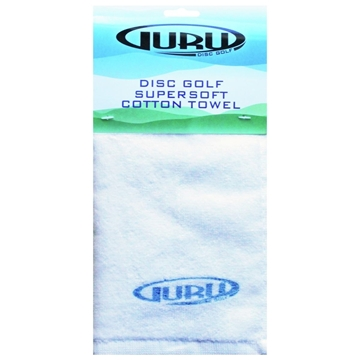 Guru Disc Golf Towel Cotton WHITE