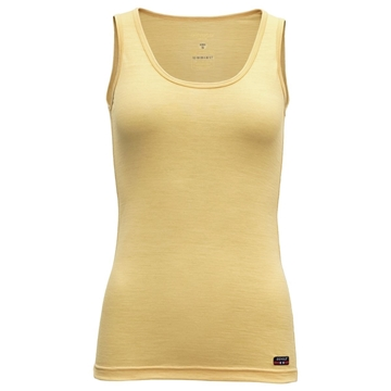 Devold Breeze woman singlet honey ullsinglet