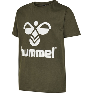 Hummel hmlTRES T-SHIRT S/S OLIVE NIGHT junior