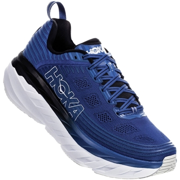 hoka one one m bondi 6 GBAN/GALAXY BLUE / ANTHRACITE