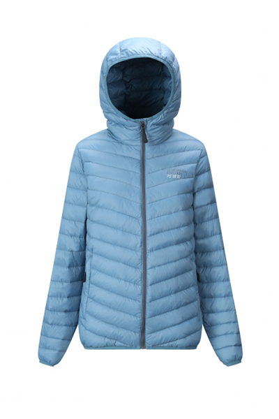 Sport 1 Elverum Ultra Light Down Jacket Lady Old Blue