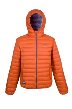 Bilde av Ultra Light Down Jacket Unisex Rusty Orange
