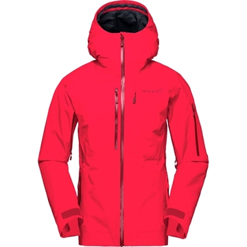Norrøna lofoten Gore-Tex Insulated Jacket Women crisp ruby