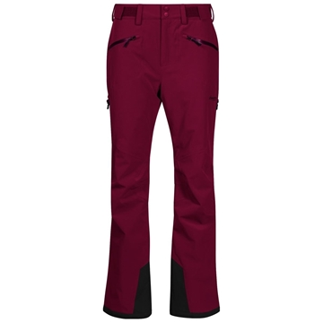 bergans oppdal insulated lady pants beet red bukse