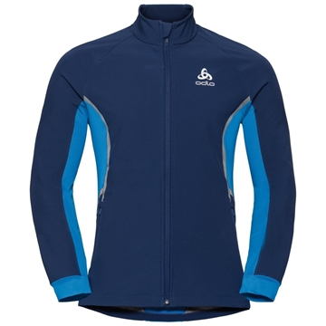 Odlo Jacket AEOLUS estate blue - directoire
