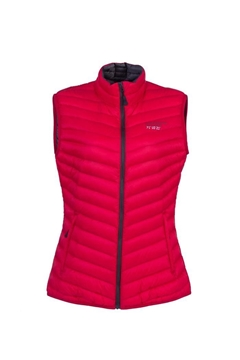 Bilde av ULTRA LIGHT DOWN VEST LADY Rasperry Red