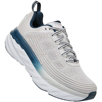 HOKA ONE ONE W BONDI 6 LRNC/LUNAR ROCK / NIMBUS CLOUD