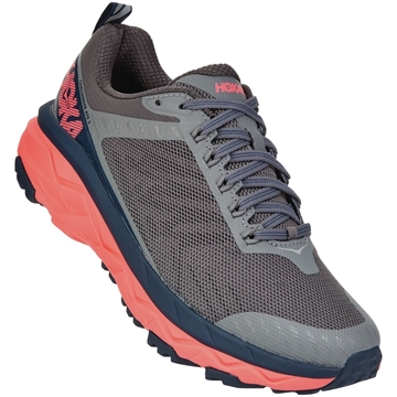 w hoka one one challenger atr 5 CGFC/CHARCOAL GRAY / FUSION CO