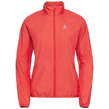 Odlo Jacket ELEMENT LIGHT hot coral løpejakke