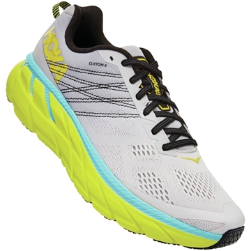 Hoka one one m Clifton 6 LRNC/LUNAR ROCK / NIMBUS CLOUD