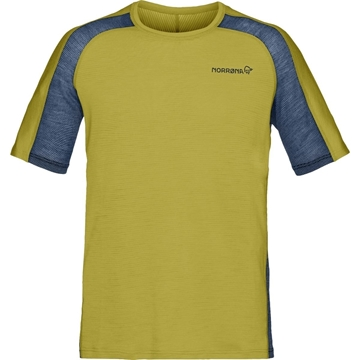 Norrøna bitihorn wool t-shirt M Golden Palm