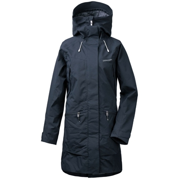 Didriksons ILMA WNS PARKA 2 Dark Night Blue