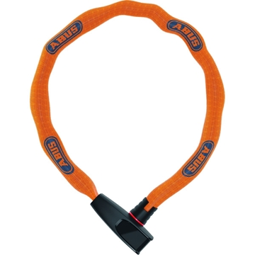 Abus Kjettinglås Catena 6806K/75 Neon orange 75 cm sykkellås level 6
