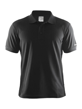 Craft Pique Classic Men black