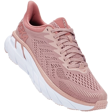 hoka one one w clifton 7 MRCB/MISTY ROSE / CAMEO BROWN
