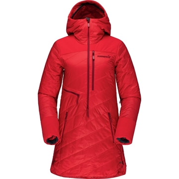 Norrøna lofoten primaloft80 anorak Women true red