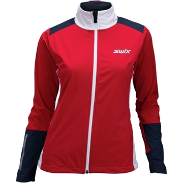Swix Dynamic jacket womens swix red