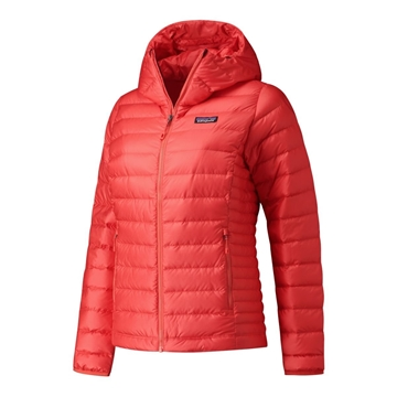 Patagonia Womens Down Sweater Hoody Catalan Coral