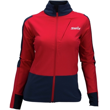 Swix Quantum performance jacket Women swix red