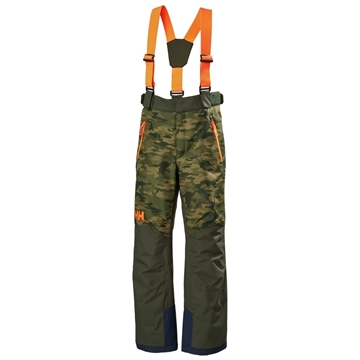 Helly Hansen JR NO LIMITS 2.0 PANT olive aop skibukse