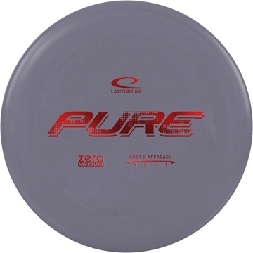 Latitude 65 ZERO MEDIUM PUTTER PURE. 173+ Gray frisbeegolf