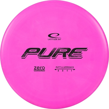 Latitude 65 ZERO MEDIUM PUTTER PURE. 173+ Pink frisbeegolf