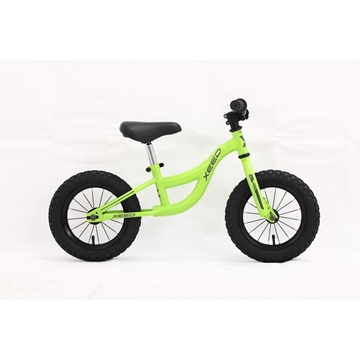 Xeed Walky 12 MATTE BRIGHT GREEN løpesykkel 1-3 år